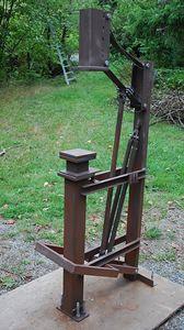Moose Forge treadle hammer