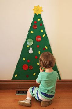 Does your toddler like to play with your Christmas tree? Do you get panic attacks every time they go near it? Especially when they go near the side that has your favourite glass decoration on it that you got on holiday 5 years ago and you know you can't ever replace?? I'm hoping that this …