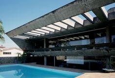 Residência Eduardo Alvaro Vieira, São Paulo 1974, Dezio Tozzi