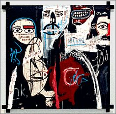 Jean-Michel Basquiat (Dec 22,1960 – Aug 12, 1988), American artist. He began as a graffiti artist in New York City in the late 1970s and evolved into a Neo-expressionist painter during the 1980s. Collaborated with Andy Warhol and David Bowie. Died of a heroin overdose.