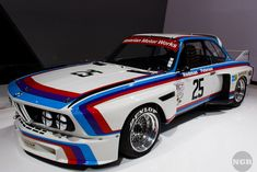 1975 Redman-Peterson IMSA BMW 3.0 CSL Batmobile
