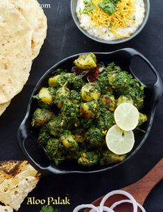 Calories of Aloo Palak, Is Aloo Palak healthy? Greek Recipes, Indian Food Recipes, Vegetarian Recipes, Cooking Recipes, Healthy Recipes, Aloo Recipes, Recipies, Aloo Palak Recipe, Healthy Indian Snacks
