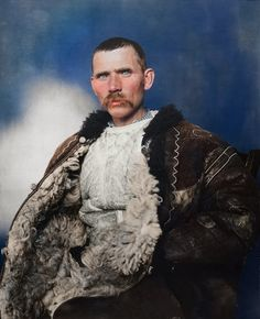 Romanian shepherd - Ellis Island - 1905