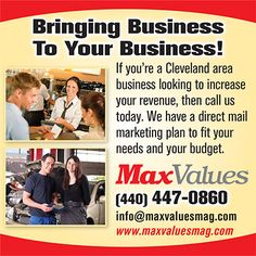 MaxValues magazine - Bringing Business to Your Business