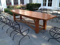 cypress garden dining table