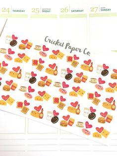 Perfect Match Stickers, Date Night Stickers, Erin Condren Planner Stickers, Functional Stickers, ECLP, Filofax, Kikki K