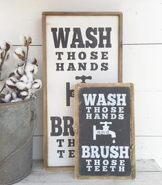 Have you entered to win our mini WASH/BRUSH sign yet? You still have a few hours left! Check a few posts back for details....let's show some SMALL SHOP LOVE in a big way. ☺️ .. #handmade #farmstyle #farmhousestyle #rustic #shabby #rusticdecor #farmhousedecor #walldecor #handmade #etsy #smallbusiness #charlieandella #office #gallerywall #walldecor #signs #wallart #bathroomdecor