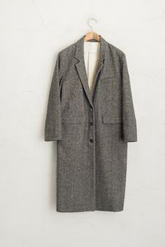 Olive - Boucle Full-length Coat, Grey, £169.00 (http://www.oliveclothing.com/p-oliveunique-20160120-116-grey-boucle-full-length-coat-grey)