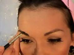 pin up style makeup how-to