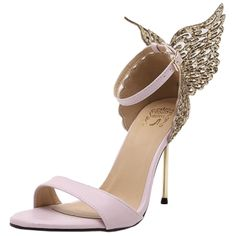 Peep toe Stiletto Butterfly Party Sandals