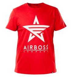 "Футболка ""White Logo"" Бренд: Airboss.Company Размеры: S-3XL"
