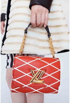 Louis Vuitton Red Epi Twist Malletage Bag - Cruise 2015