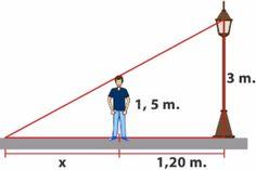 Aplicación del Teorema de Tales. Maths Algebra, Maths Puzzles, Map Math, Triangle Math, Maths Paper, Physics Formulas, Teaching Geometry, Maths Solutions, Math Notes