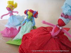 Inspiration: Tissue Paper Dolls