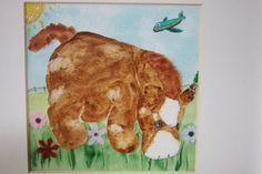 Custom Stuffed Animal Mixed Media by FreeHeartsArt on Etsy