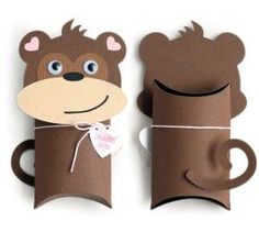 I think I'm in love with this shape from thatu😊😊e Silhouette Design Store! Toilet Roll Craft, Toilet Paper Roll Crafts, Art For Kids, Crafts For Kids, Diy Crafts, Rock Crafts, Garden Crafts, Monkey Crafts, Valentine Box