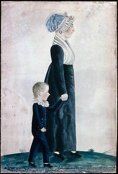 Mrs. Jones and Son. (Dauphin County, Pa.) | Museum of Fine Arts, Boston
