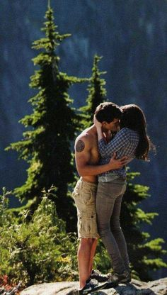 I was really happy that he got to kiss her. I felt so bad for him!!! I like Edward, but I still felt bad for Jake. Until he realized where his Imprint was of course. :)