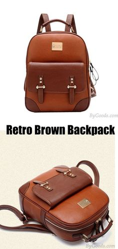New British Style Retro Leather Backpack                                                                                                                                                                                 More