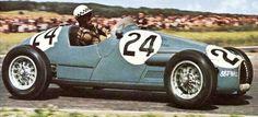 1954 GP Francji (J.Behra) Gordini T16