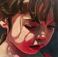 """Girl 15"" original fine art by Brandi Bowman"
