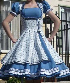 9 mejores imágenes de vestidos cueca  ed90b507cd15