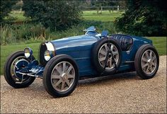 Bugatti T35  Agile, beautiful and successful. Motor racing's dominant instrument in the late 1920s.