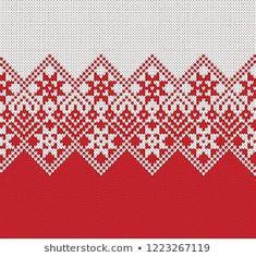 Fair Isle Knitting Patterns, Knitting Machine Patterns, Christmas Knitting Patterns, Fair Isle Pattern, Knitting Charts, Knitting Stitches, Willow Weaving, Cross Stitch, Embroidery