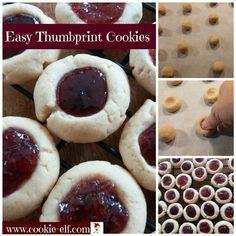 Easy Thumbprint Cookies