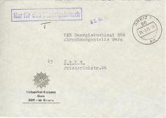 Greiz Volkspolizei-Kreisamt