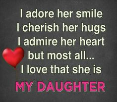 ♡☆ MY DAUGHTER ☆♡