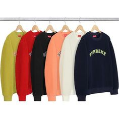 Left to drop fall/winter 2017 - Supremecommunity Winter 2017, Fall Winter, Supreme Hoodie, Hoodies, Sweatshirts, Adidas Jacket, Crew Neck, Sweaters, Jackets