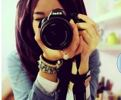 muslimah photographer with camera - Google Search