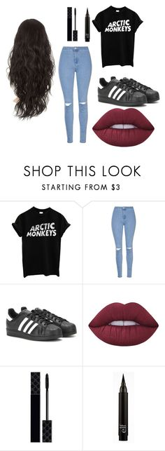 hope 4 by hopegreen on Polyvore featuring Glamorous, adidas, Lime Crime and Gucci