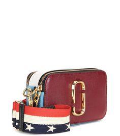 Snapshot Small multicoloured leather shoulder bag