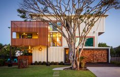15 Well-Designed Shipping Container Homes for Life Inside the Box - http://freshome.com/shipping-container-homes/