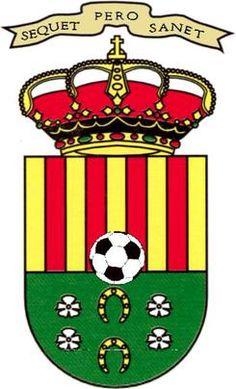 2004, FC Jove Español San Vicente (San Vicente del Raspeig, Comunidad Valenciana, España) #FCJoveEspañol #SanVicentedelRaspeig #Valencia (L19083) Crests, Stickers, Valencia, Badges, Hong Kong, Soccer, Football, Sport, Logos