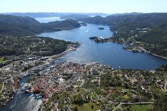 Flekkefjord ~ in Southeastern Norway. This was home to my great grandparents Pedersen.