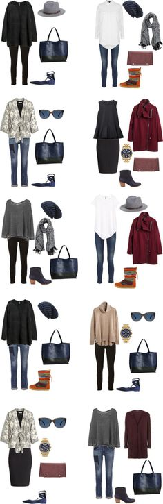 What to Wear in Prague, Czech Republic. Outfits 11-20 #packinglight #travellight #traveltips
