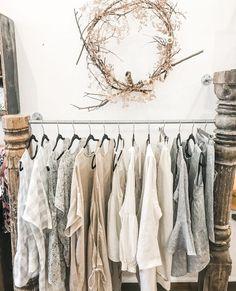 "Eva's Sunday | Linen Clothing on Instagram: ""Neutral wardrobe love 🖤"" Wardrobe Rack, Neutral, Sunday, Mood, Clothing, Instagram, Home Decor, Style, Outfits"