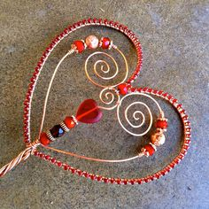 Red Queen of Hearts Scepter. $49.95, via Etsy.