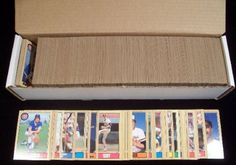 1987 Topps MLB Baseball Complete Set with 792 Cards in MINT Condition! This Awesome Complete Set Features Rookie Cards of Mark McGwire, Barry Bonds, Barry Larkin, Bo Jackson, Will Clark and More! It is Absolutely Loaded with Superstars and Hall of Famers including Cal Ripken, Nolan Ryan, Ozzie Smith, Ryne Sandberg, George Brett, Roger Clemens and Many More! A Great addition to any.... $24.99. Wowzzer!! We are proud to offer this 1987 Topps MLB Baseball Complete Set Which Cont...