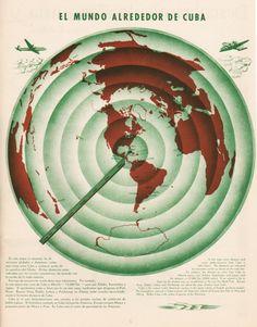 El Mundo Alrededor de Cuba   The World Around Cuba