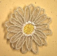 3D Flower 2 - Small | Floral - Flowers | Machine Embroidery Designs | SWAKembroidery.com Starbird Stock Designs