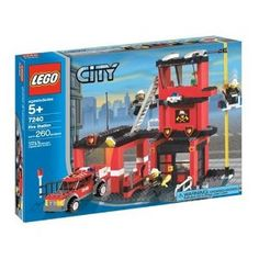 LEGO City Fire Station 7240