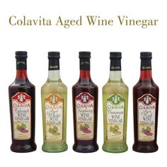 It's Wine O' Clock Wednesday! But tonight it's not about the vino--but the wine vinegar! Which one of our wine vinegars will you use for tonight's dinner? http://store.colavita.com/oils/wine-vinegars.html ‪#‎wineoclockwednesday‬ ‪#‎eatitalianstyle‬ ‪#‎winevinegar‬