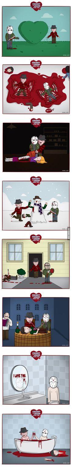 Freddy and Jason Have Fun