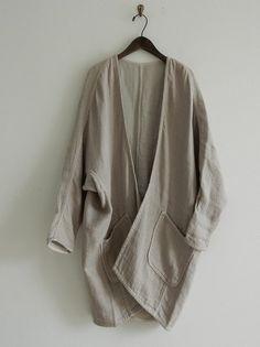 ゴーシュ リネンコットン羽織りコート