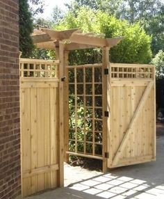 gate  - on my wish list on the right side of my house.