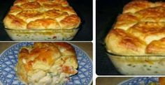 Chicken Biscuit Casserole!